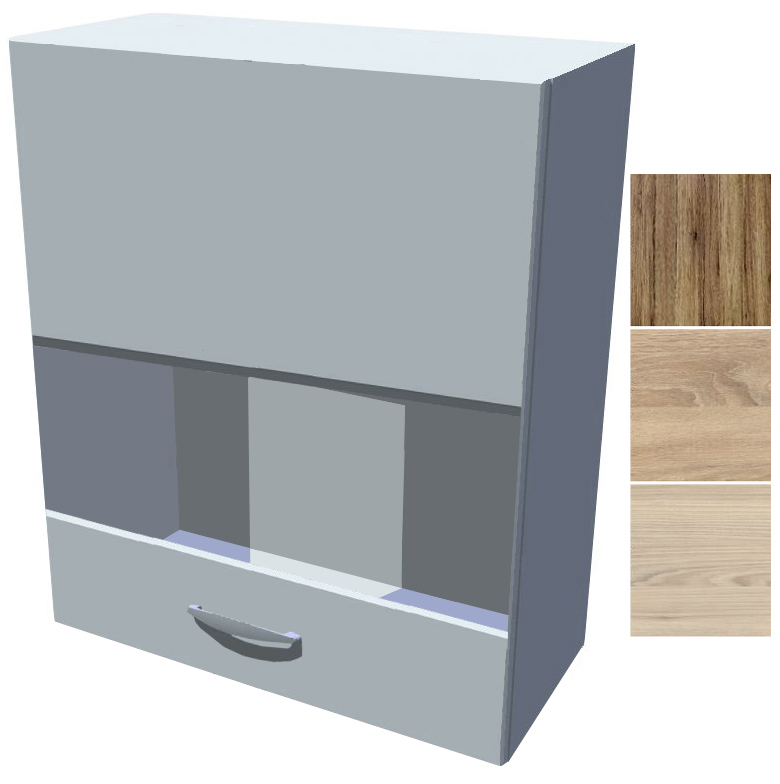 Horní skříňka - vitrína Iga 70 cm 2D