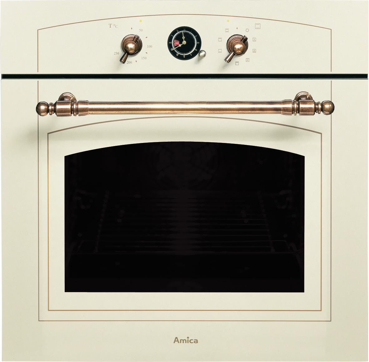 Rustikální vestavná trouba AMICA EBR 7331 W AA