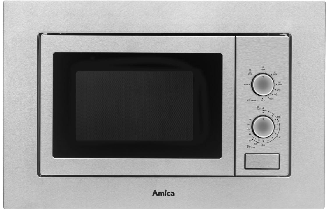 Vestavná mikrovlnná trouba AMICA AMMB 20 M1GI