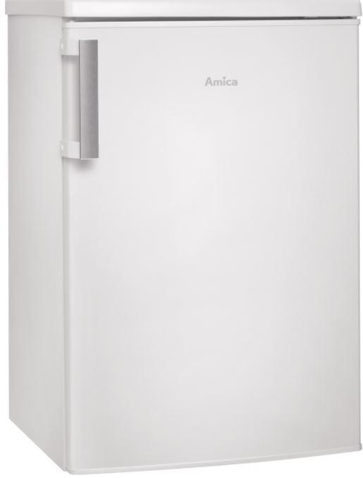 Volně stojící jednodvéřová chladnička s mrazničkou AMICA FM 138.3 AA