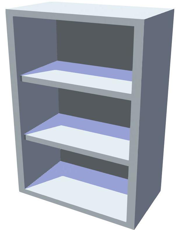 Horní policová kuchyňská skříňka 60 cm