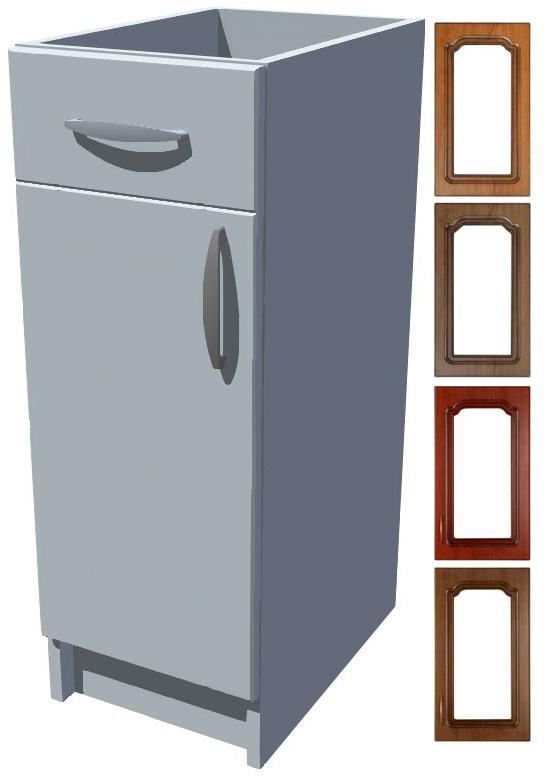 Rustikální spodní skříňka Bolero s šuplíkem 30 cm