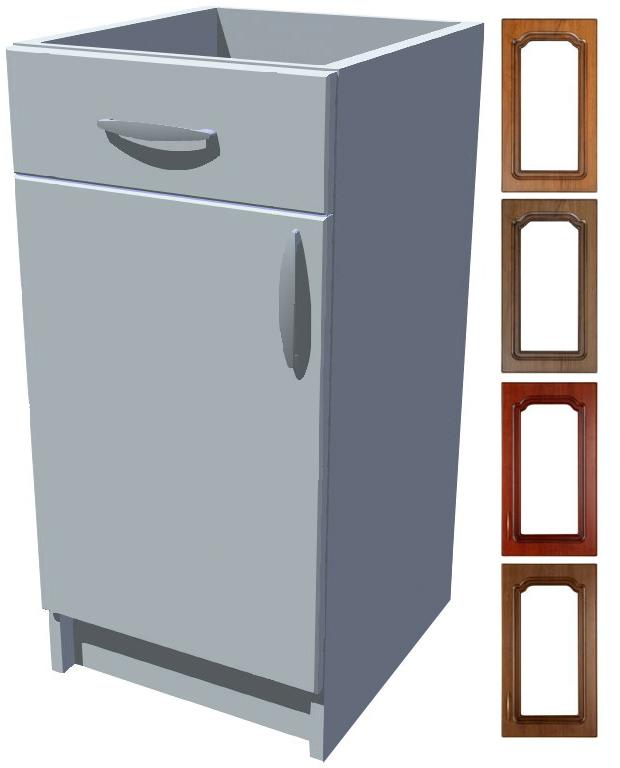 Rustikální spodní skříňka Bolero s šuplíkem 40 cm