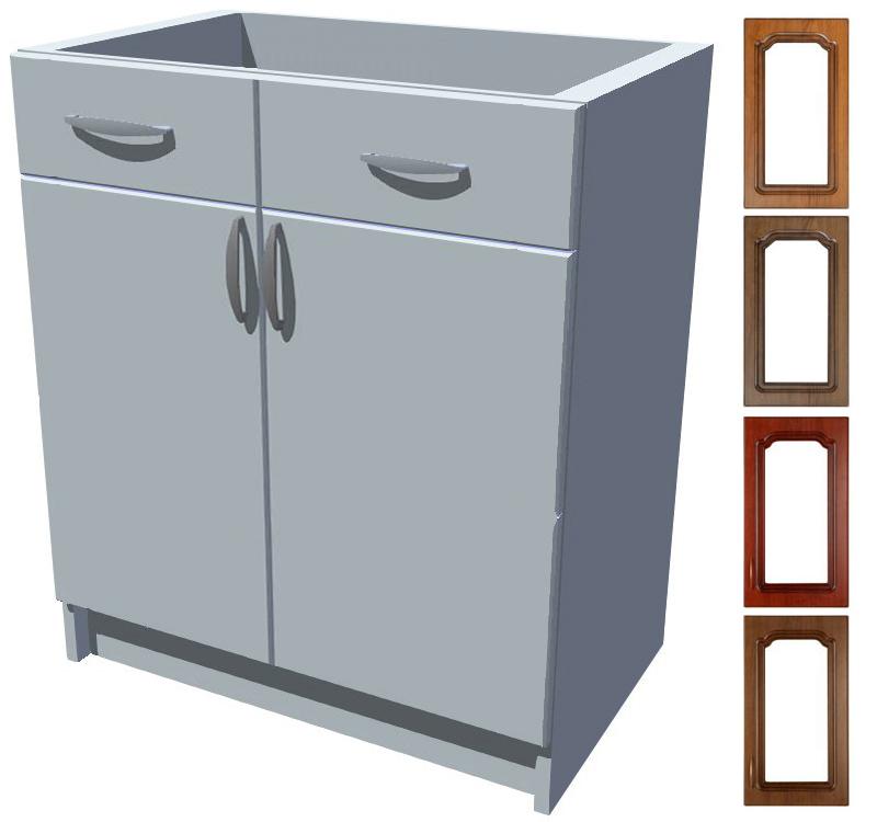 Rustikální spodní skříňka Bolero s šuplíkem 70 cm