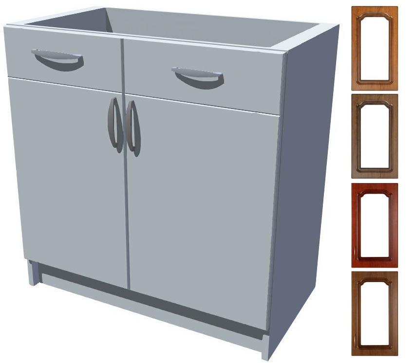 Rustikální spodní skříňka Bolero s šuplíkem 80 cm