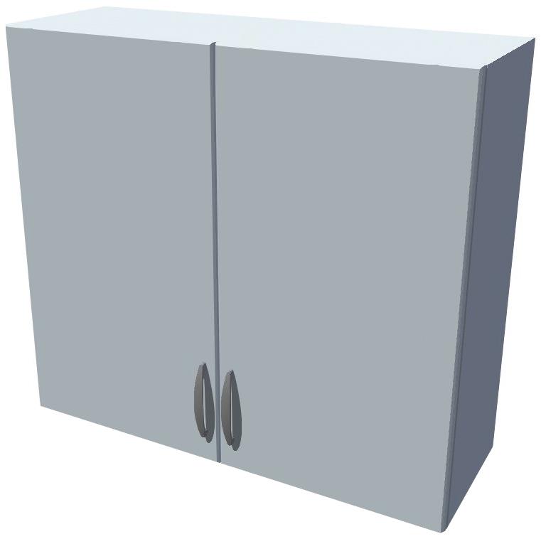 Horní kuchyňská skříňka 80 cm 2D se sušákem na talíře + vklad
