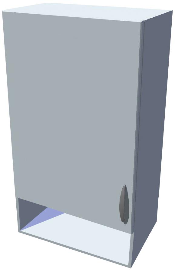 Horní kuchyňská skříňka 50 cm s poličkou 14 cm
