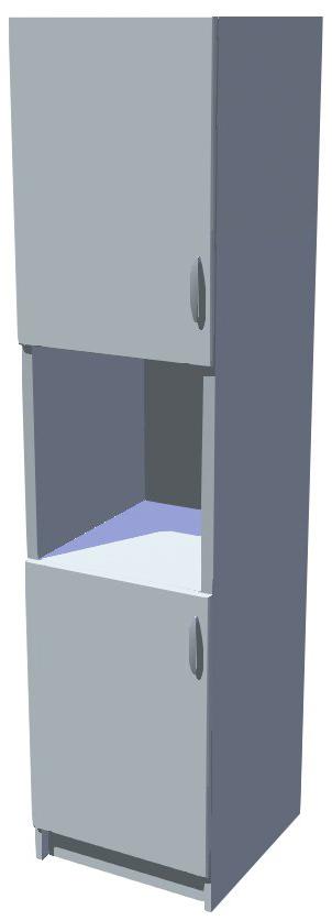 Potravinová skříň Diana 50 cm s otvorem