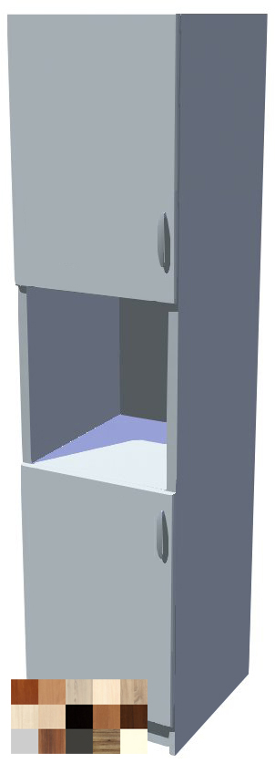 Potravinová skříň Tina 60 cm s otvorem