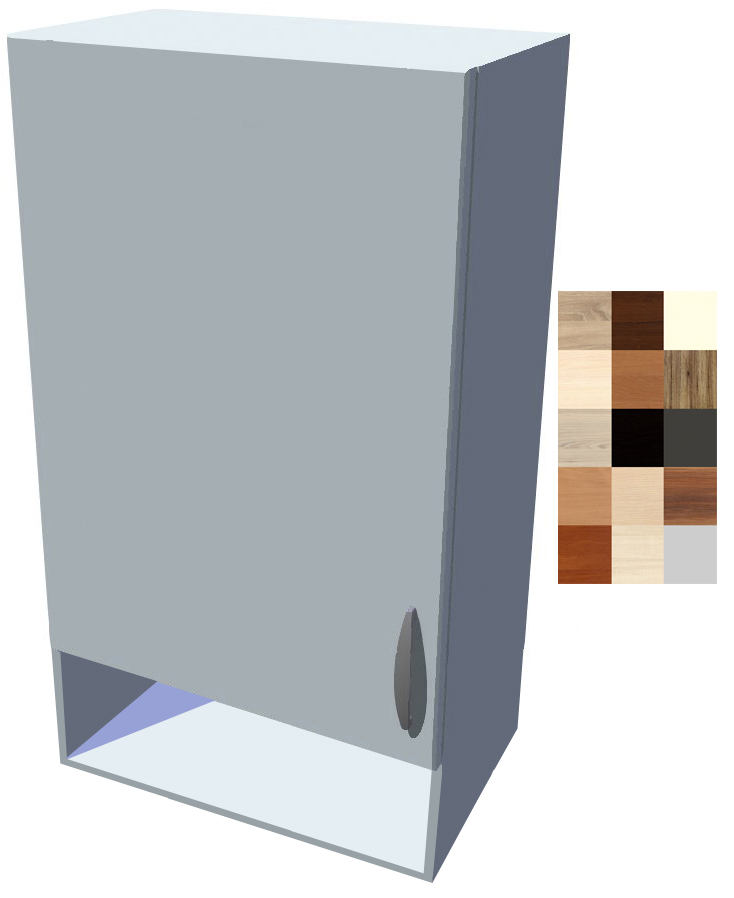 Horní skříňka Tina s poličkou 1D 50 cm