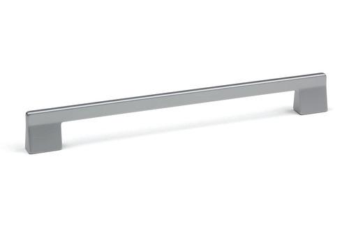 Úchytka na dvířka Foka stříbrná 160