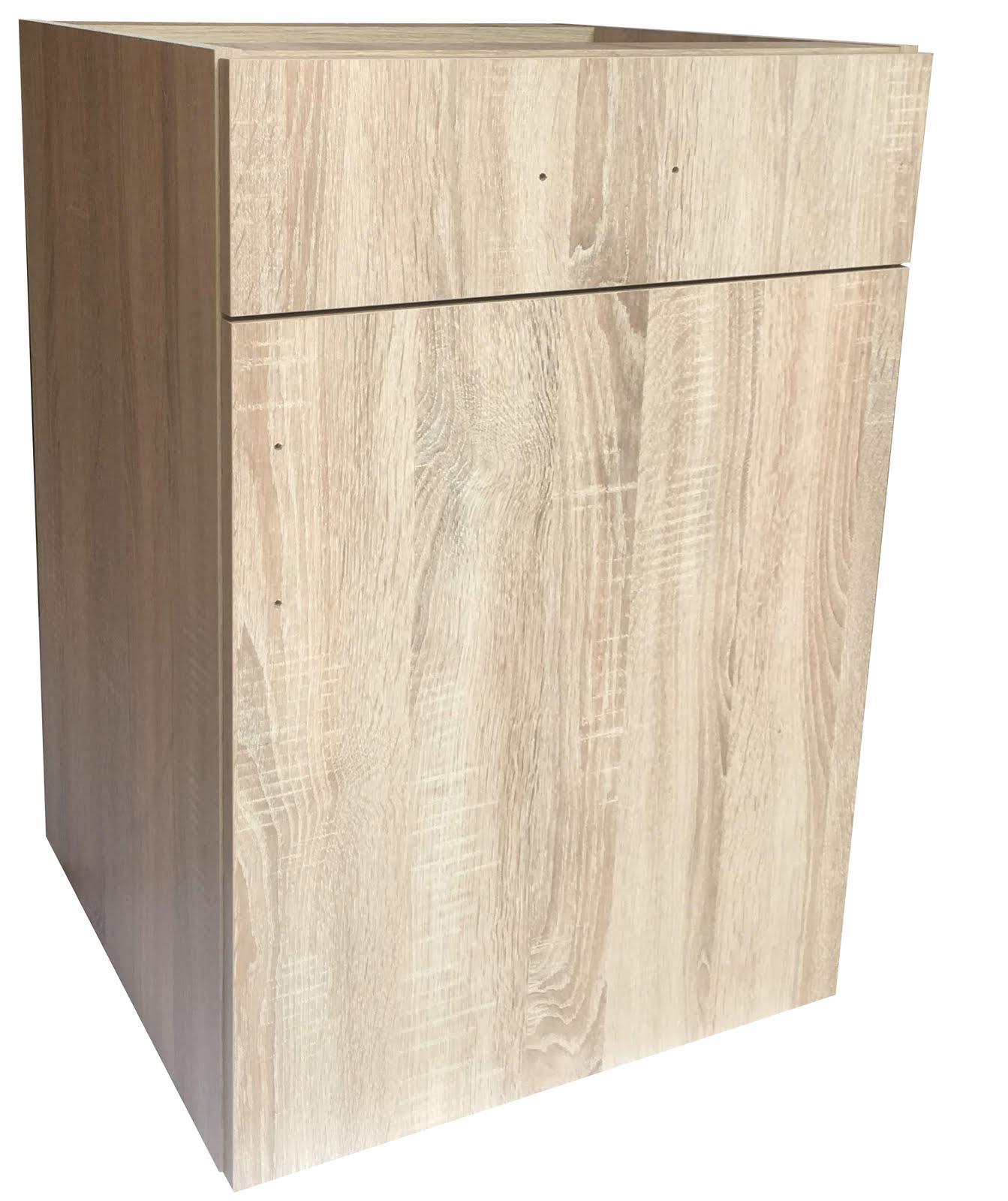 Spodní skříňka Tina se šuplíkem 50 cm dub sonoma - výprodej