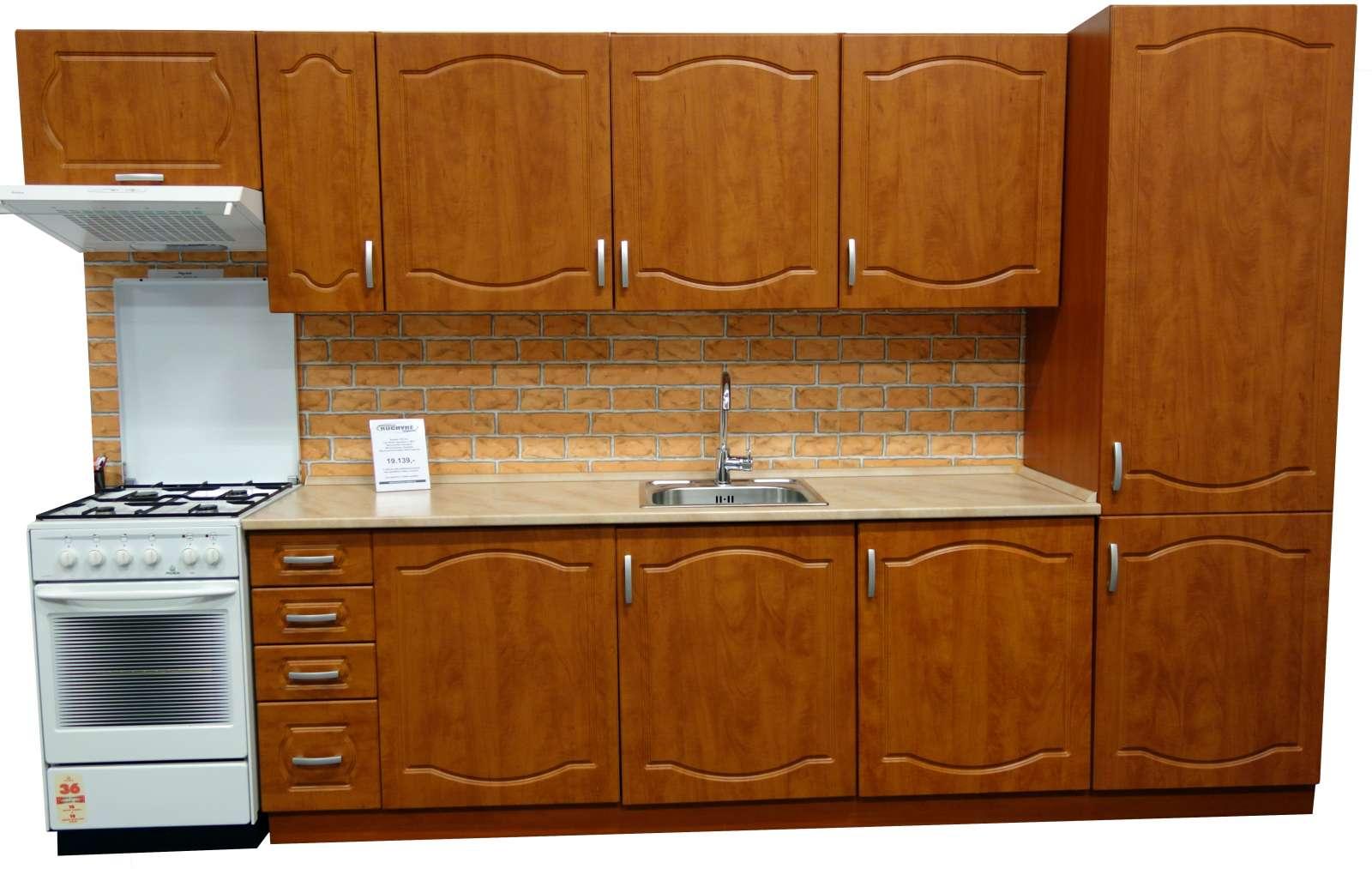 Kuchyně Diana kalvádos 330 cm - výprodej