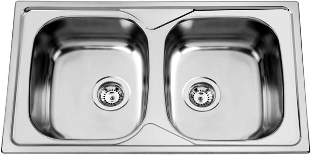 Sinks OKIO 860 DUO V 0,6mm matný
