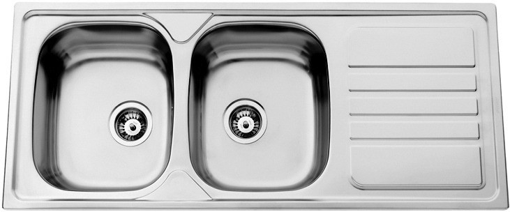 Sinks OKIO 1200 DUO V 0,7mm matný