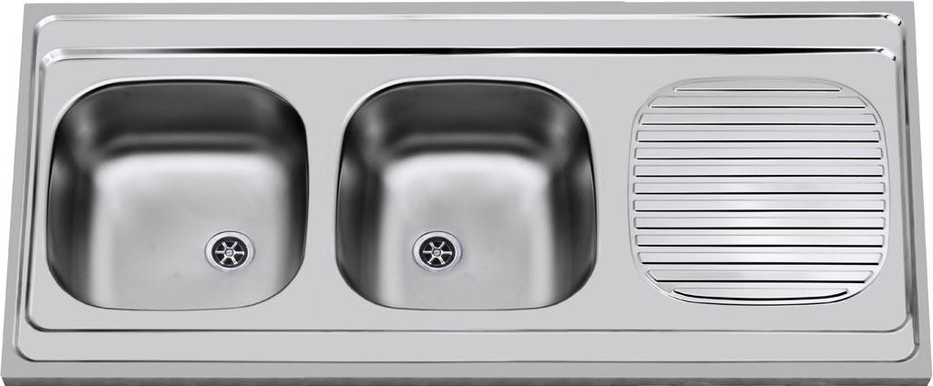 Sinks CLP-A 1200 DUO M 0,6mm matný