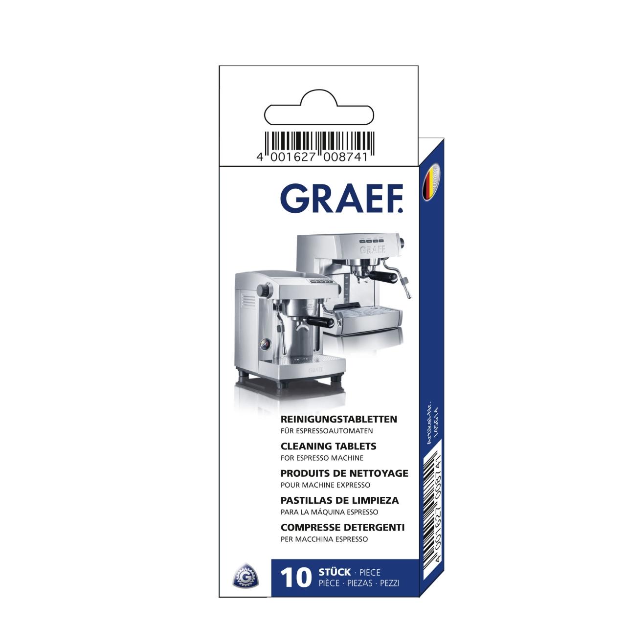 Čistící tablety Graef