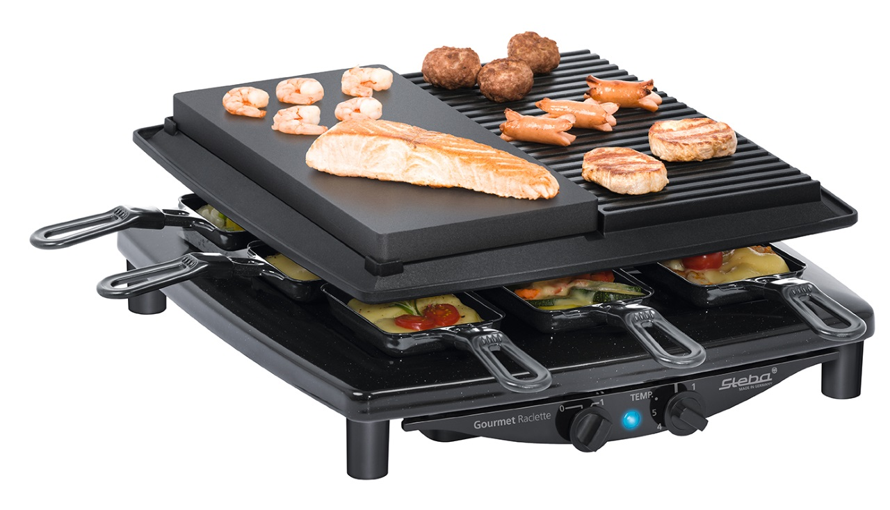 Raclette gril Steba RC 4 Plus Deluxe